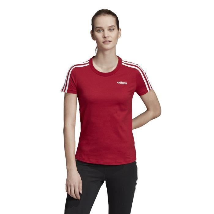 tee shirt adidas femmes rouge