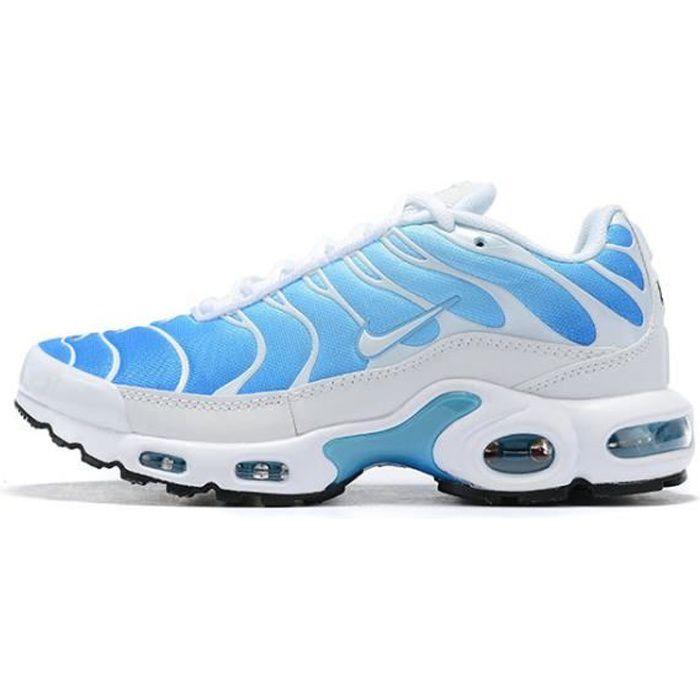 Baskets Nike Air Max Plus TN Chaussures de Sport Bleu Blanc pour ...