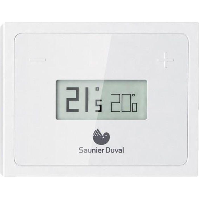 Thermostat programmable connect/é sans fil et unit/é de r/éception Salus RT310i