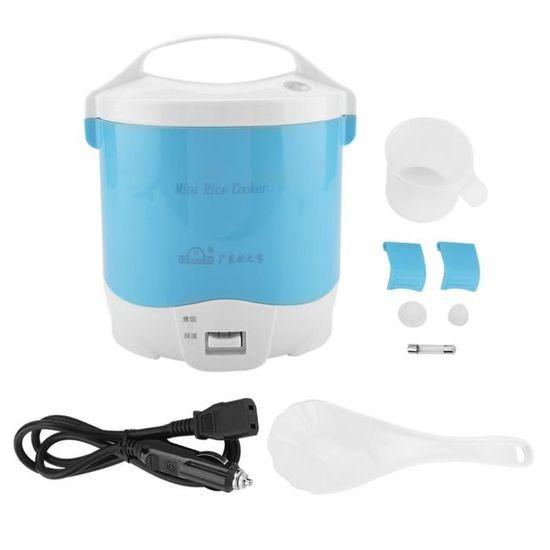 Blanc zhoul 24V 140W 1.6 L cuiseur /à Riz /électrique cuiseur /à Vapeur Portable Multifonctionnel cuiseur /à Riz cuiseur /à Vapeur pour Camion