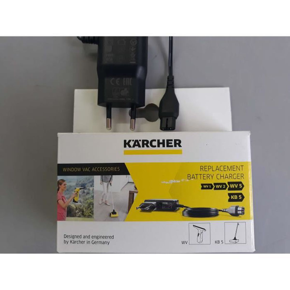 Karcher WV 2 Fenêtre Vac Pièces de rechange Karcher accessoires pièces