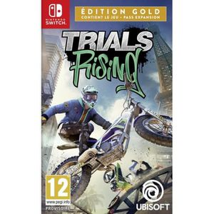 JEU NINTENDO SWITCH Trials Rising Édition Gold Jeu Switch