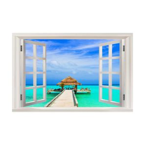 Sticker fenêtre déco Paysage réf 5395 5395