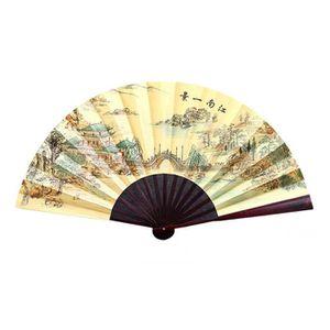 OBJET DÉCORATIF Ventilateur traditionnel traditionnel chinois vent