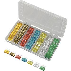 Grand Maxi en plastique Fusibles plats Fusibles jeu Assortiment 20-70 a 18 pièces