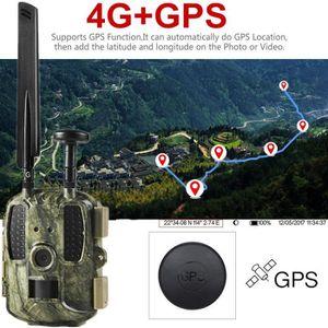 APP. PHOTO MINIATURE Caméra de chasse Trail 4G GPS 4G / 3G / 2G Caméra