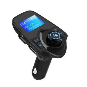 TRANSMETTEUR FM Transmetteur FM Bluetooth Kit Mains-Libres pour Te