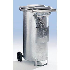 POUBELLE - CORBEILLE Conteneur spécial pour déchets huileux - en tôle d