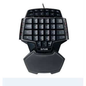 CLAVIER D'ORDINATEUR Mini jeux clavier LOL Gaming Keyboard Terrain de J