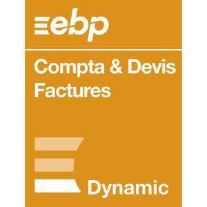 BUREAUTIQUE EBP Compta & Devis-Factures DYNAMIC 12 mois + VIP