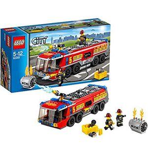 ASSEMBLAGE CONSTRUCTION Jeu D'Assemblage LEGO ZLHBO City Airport Camion de