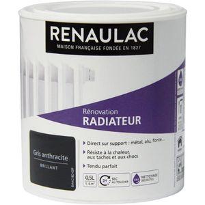 PEINTURE - VERNIS RENAULAC Peinture Rénovation Radiateur Gris Anthra