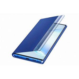 HOUSSE - ÉTUI Clear View Cover Bleu Note10+