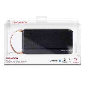 ENCEINTE NOMADE Enceinte sans fil portable noir bluetooth Thomson
