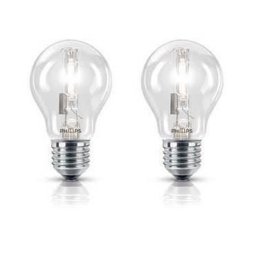 PHILIPS Lot de 2 Ampoules Halogène Std 105W E27