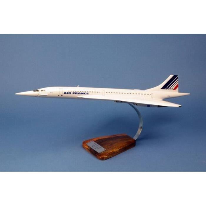 MAQUETTE CONCORDE AIR FRANCE 1/100 62 cm