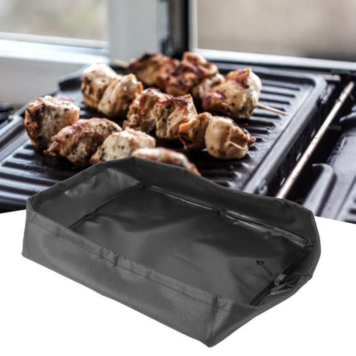 Électrique Grill Four Four Cover Électroménagers Housse protection pour Barbecue 32.5x27.5x7cm-XIS