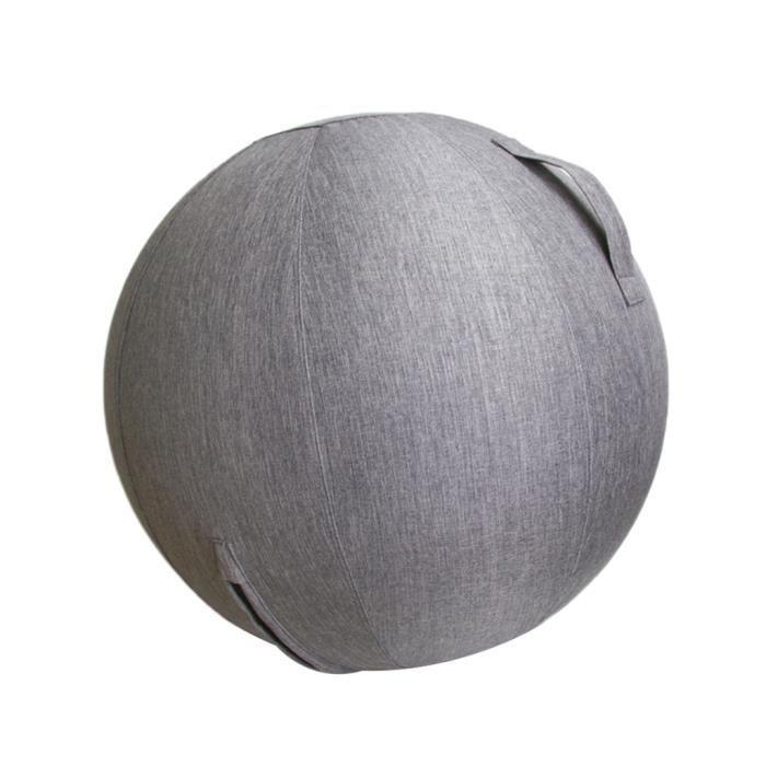 60 / 65cm Couvercle De Ballon D'exercice Pour Yoga Pilates Gym Ball Home Decor 60cm