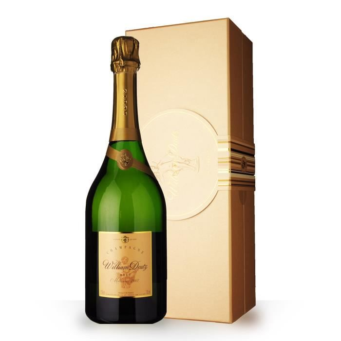 Deutz Cuvée William Deutz 2007 Brut - Coffret - 75cl - Champagne