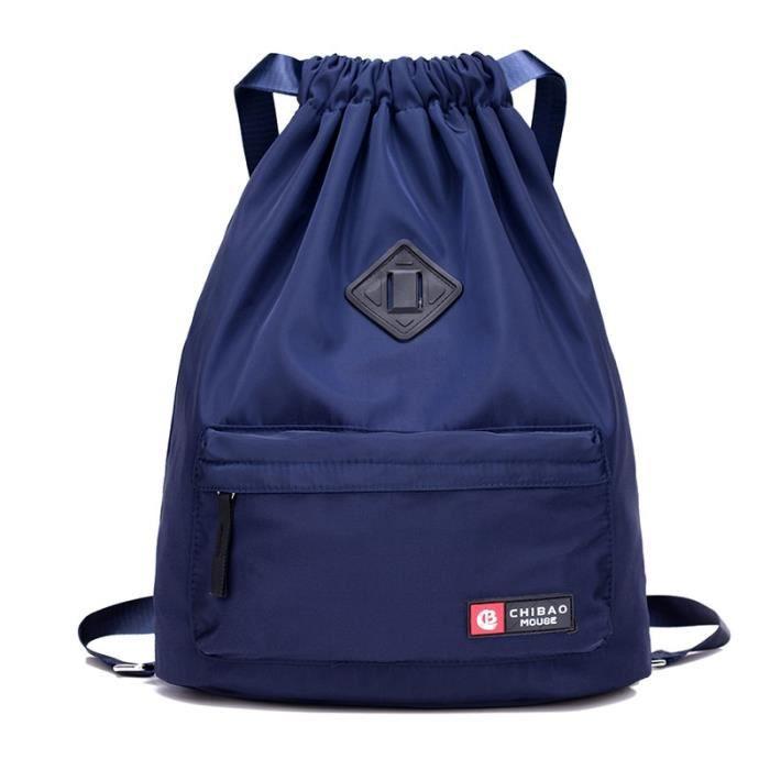 Sac et Bagage Sport,Sac de Sport étanche sac de Sport Softback sacs à dos de Sport femmes hommes sacs de Sport - Type Bleu couleur