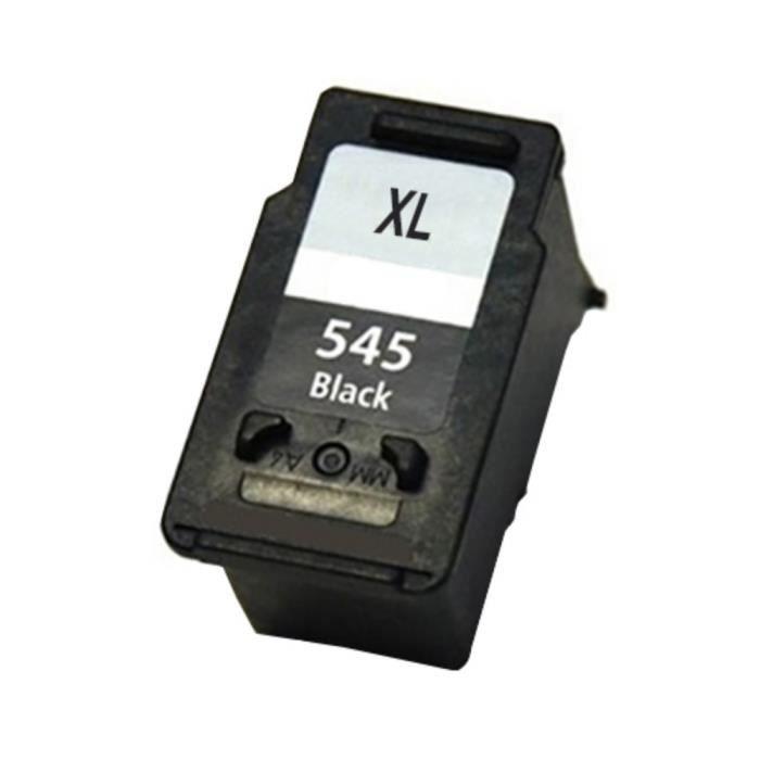 CANON PG-545XL Noir. Cartouche d' encre compatible de grande capacité é quivalent au modè le d' origine CANON 8286B004.