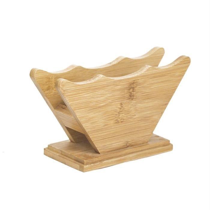 Café Filtres,Support de filtre à café, support de stockage de papier de café, support de récipient de papier de - Type wood color#A1