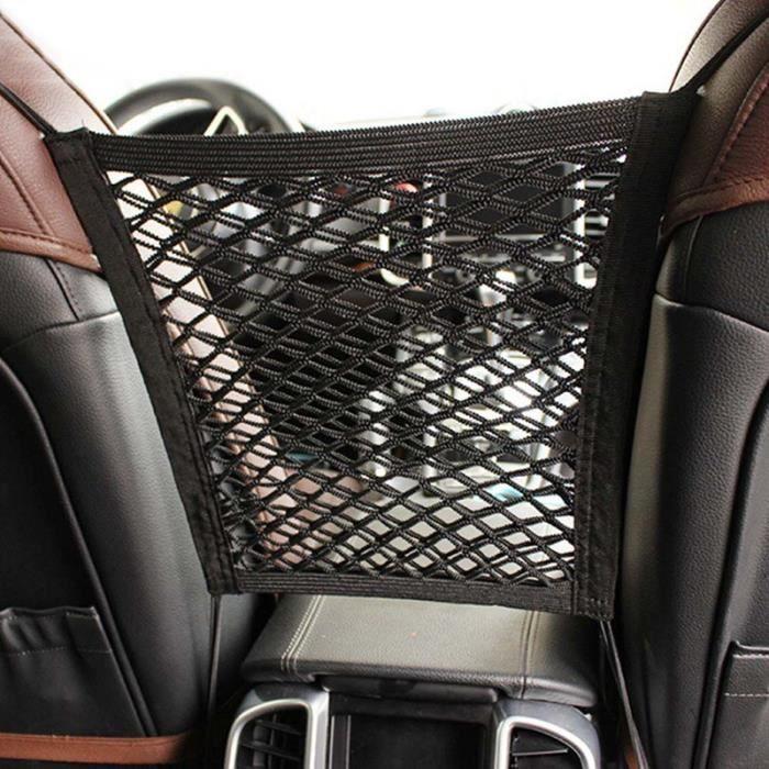 Accessoires auto intérieurs,Filet de chargement dans le coffre voiture plafond filet de rangement poche - Type seats net 2 layers
