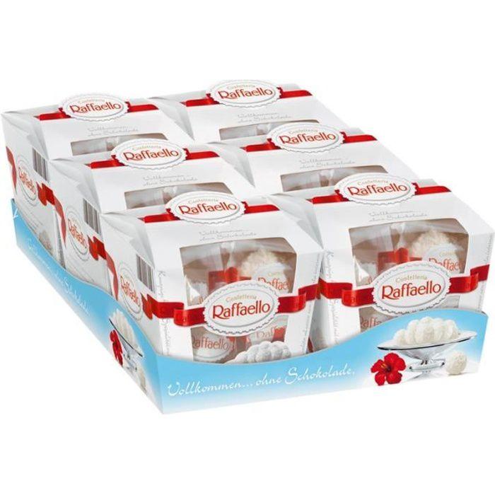 Ferrero Raffaello 150g, chocolat, 6 packs