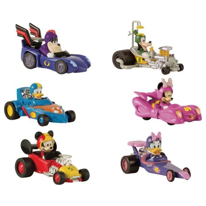 IMC TOYS Assortiment voiture Pack 1 Mickey & Ses Amis Top Départ - Modèle Aléatoire