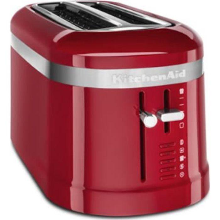 KitchenAid 5KMT5115EER, 2 part(s), Rouge, Plastique, 1500 W, 220 - 240, 50 - 60