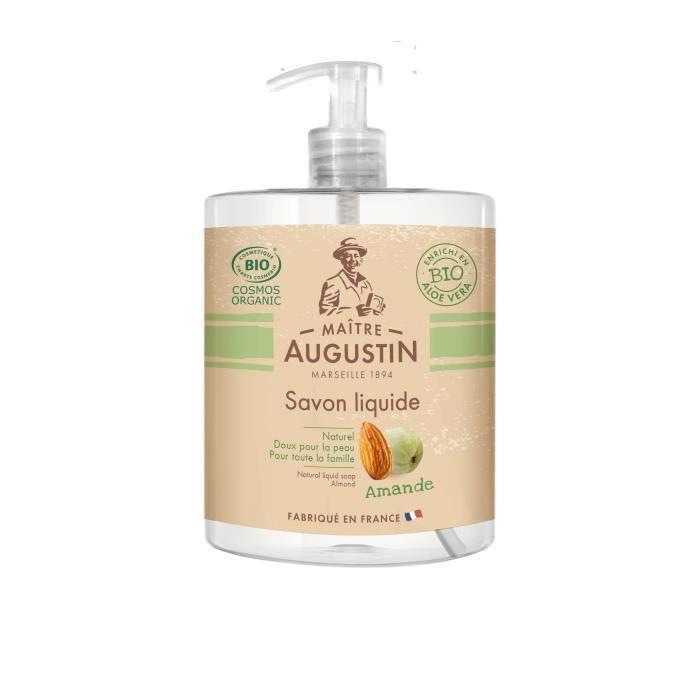 MAITRE AUGUSTIN Savon liquide 500 ml AMANDE Cosmos Organic