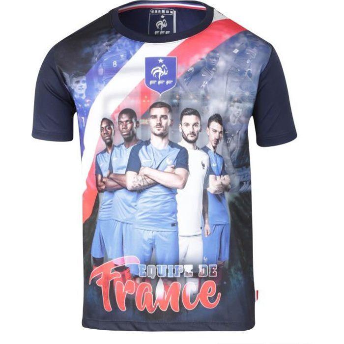 Maillot Team FFF - Collection officielle Equipe de France de Football