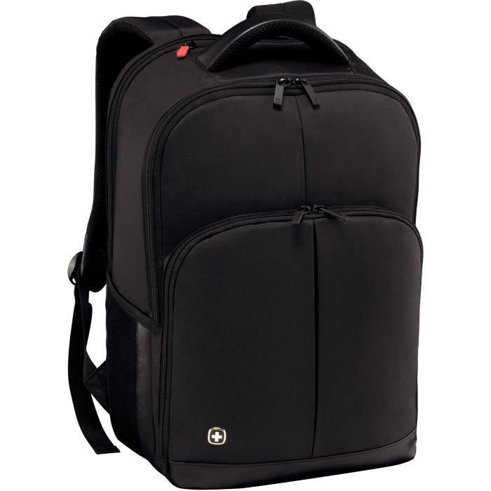 Wenger Link sac à dos pour portable avec tablette de poche 16- - Noir