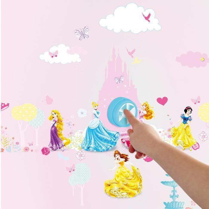 Stickers avec Sonnette Princesse Disney
