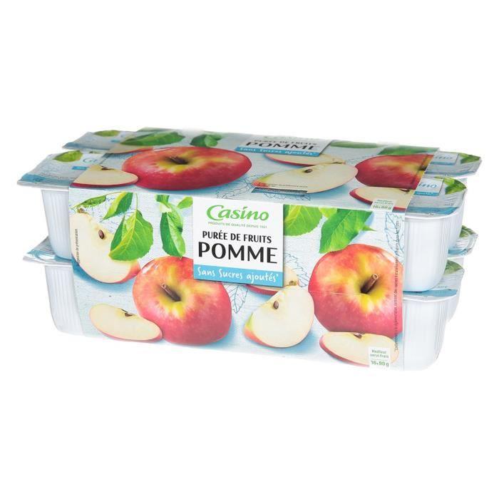 Purée de pomme 16x90g