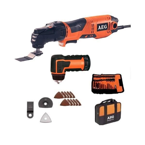 multitool aeg powertools omni 300kit4x filaire achat vente outil multifonctions soldes. Black Bedroom Furniture Sets. Home Design Ideas