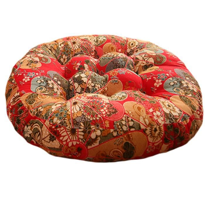 Style chinois chaise rond plancher coussin pad coussin de for Coussin rond de chaise