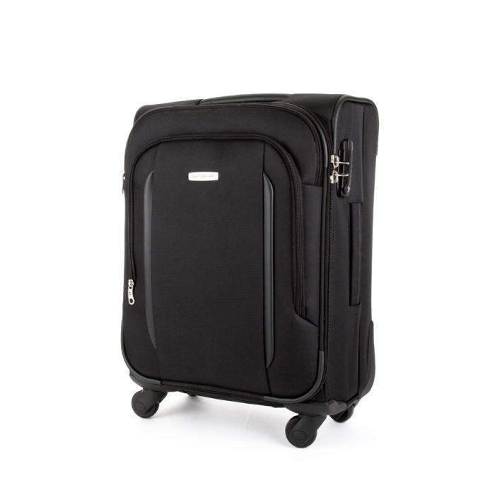samsonite valise cabine souple x 39 blade 55cm 4 r noir. Black Bedroom Furniture Sets. Home Design Ideas