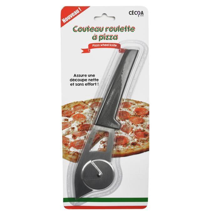 Pizza schneider avec poignée solide et lame en acier inoxydable-NEUF