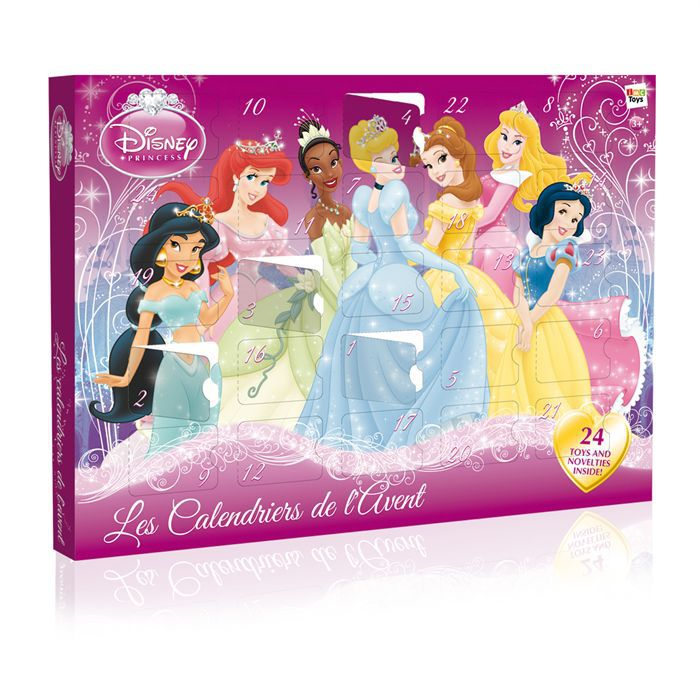 calendrier de l 39 avent princess disney achat vente. Black Bedroom Furniture Sets. Home Design Ideas