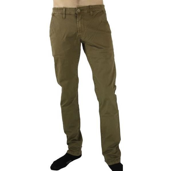 pantalon chino homme camel achat vente pantalon cdiscount. Black Bedroom Furniture Sets. Home Design Ideas