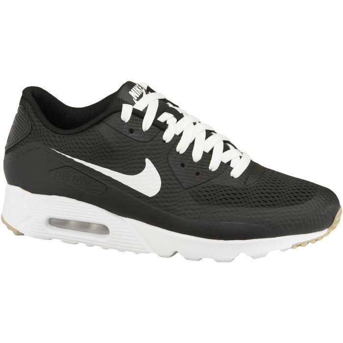 huge selection of 54b9a 04ddb Nike Air Max Utra Essential Essential Essential Homme Baskets Noir Noir  04cafc
