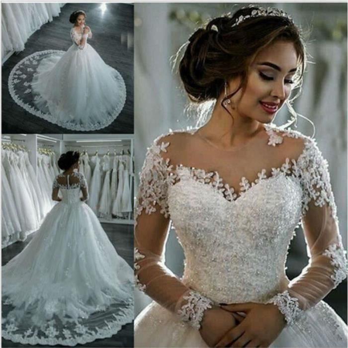 Robes de Mariée Mariage Robe de Princesse