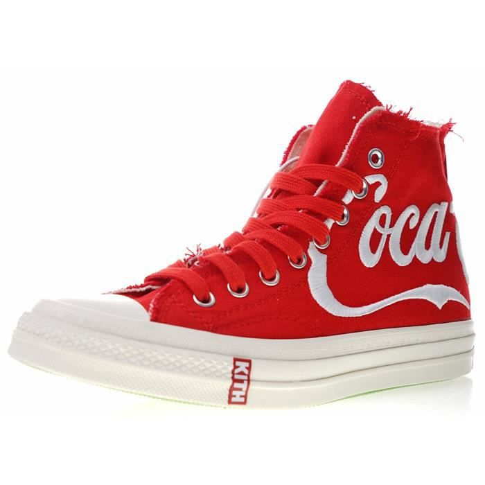 buy popular 14703 25005 BASKET Kith x Coca-Cola x Converse Chuck Tay Lor All Star