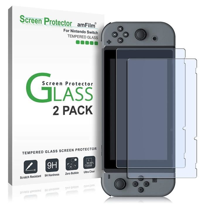 PROTECTION ECRAN JEUX Protection D'écran pour Nintendo Switch, amFilm Co