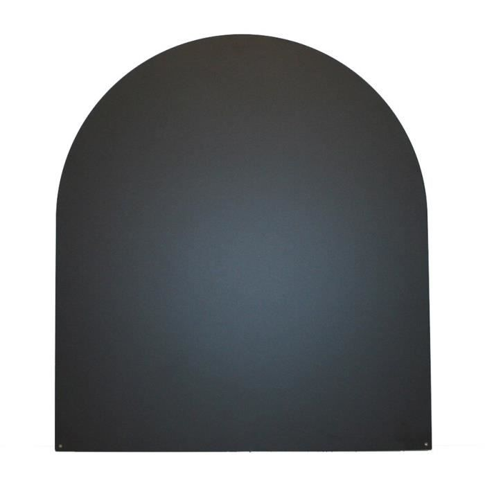 aspect acier inoxydable ronde /Ø 9,5cm Plaque de porte