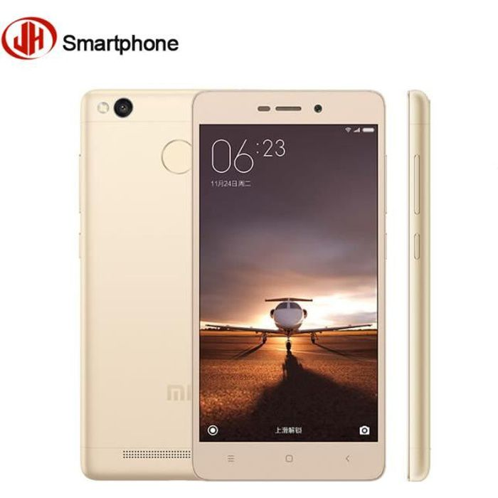 SMARTPHONE Xiaomi Redmi 3S 16 Go Or