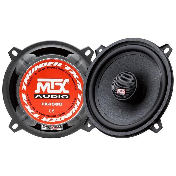 MTX Haut-parleurs coaxiaux 2 voies TX450C - 13 cm - 70W