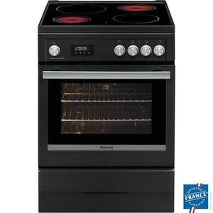 CUISINIÈRE - PIANO BRANDT BCV6650A-Cuisinière table de cuisson vitroc