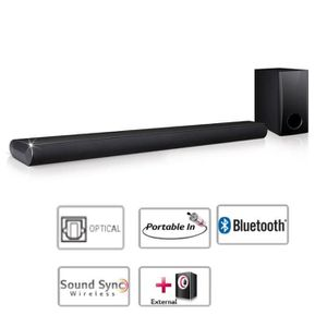BARRE DE SON LG LAS350B Barre de son 2.1Ch bluetooth 120W